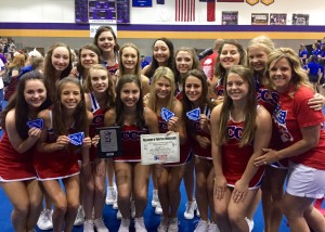 Varsity Cheer Camp Awards