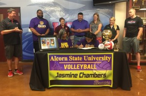 Chambers signs with Alcorn State