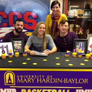 Morgan Campbell signs with UMHB
