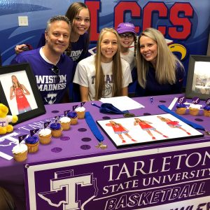 Madison Cawley signs with Tarleton State